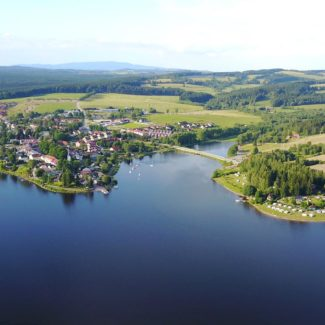 Camping Resort Frymburk - Veduta aerea