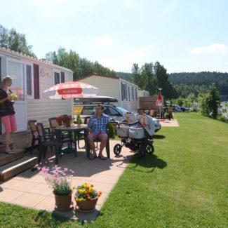 Camping Resort Frymburk - case mobili