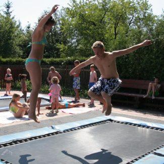 Camping Oase Praha - trampolini